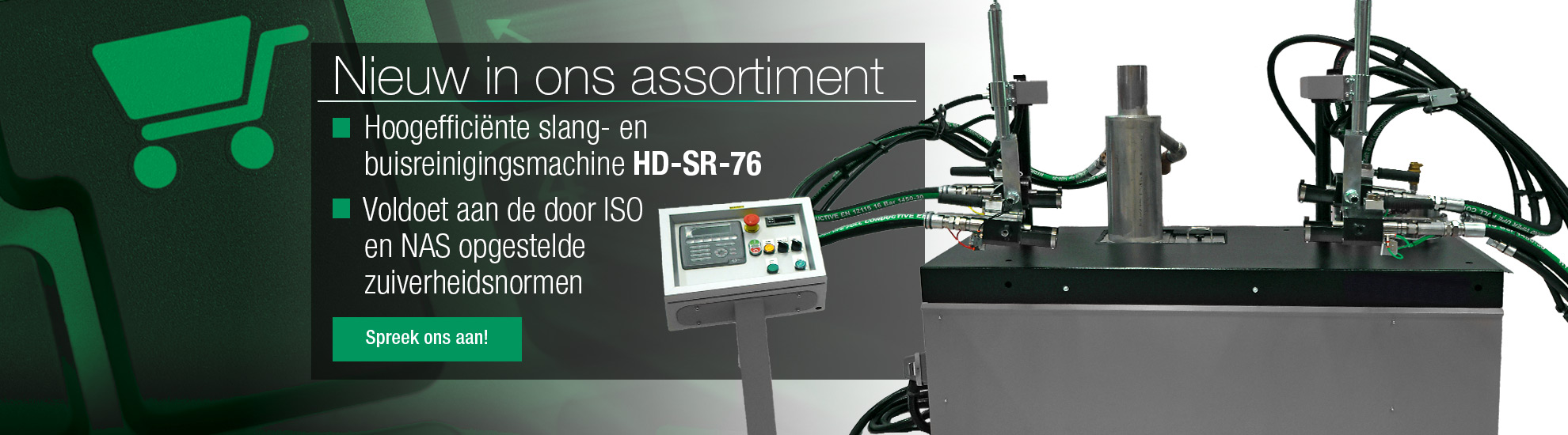 slang- en buisreinigingsmachine HD-SR-76
